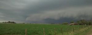 Alerta por tormentas para Santa Fe y Entre Ríos