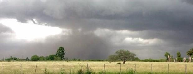 Alerta por tormentas severas sobre el centro del país