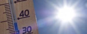 Semana con altas temperaturas en la zona central