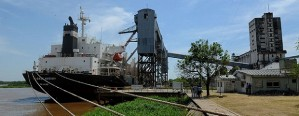 Partió hacia Brasil un buque con 20 mil toneladas de trigo